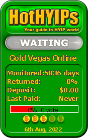 HotHYIPs - monitor and rating. Click here to verify status.